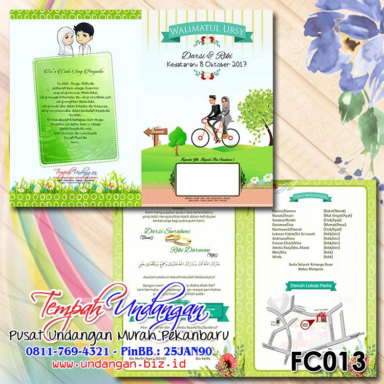 Tempah Undangan - FC013